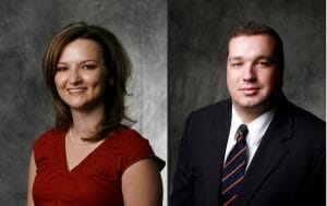 Wendi Berthelot, CPA and Micah Stewart, LLM - equity directors at LaPorte CPAs & Business Advisors