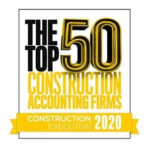 Construction Executive Top 50 Construction Accounting Firms Logo
